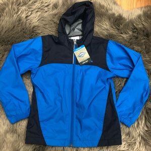 Columbia Glennaker Rain Jacket: Blue (PM1601)